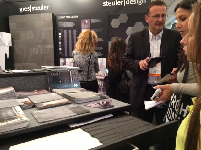 ICFF Messe in New York - Steuler Fliesen