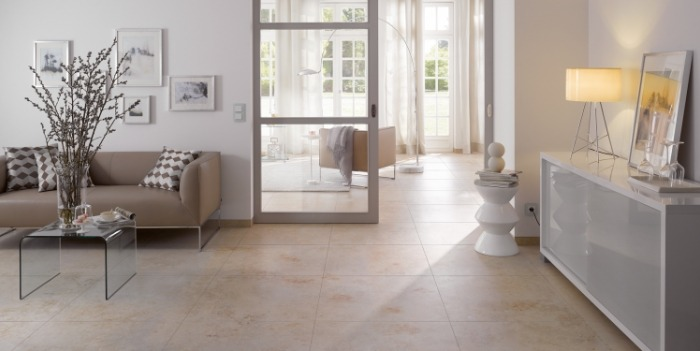 LIMESTONE: warmth and elegance, now also available in 37,5x75